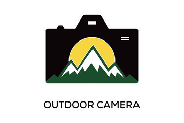 OUTDOOR CAMERA LOGO DESIGN