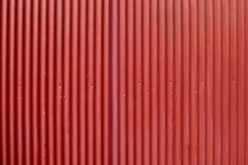 赤いトタン