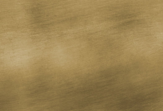 Brushed brass plate