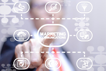 Marketing automation business digital web seo technology.