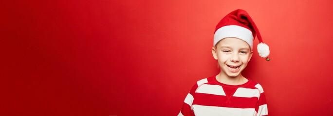 Kind als Weihnachten Panorama