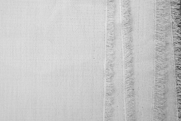 fold white fabric cloth texture