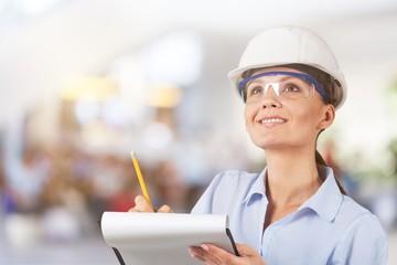 Occupation green environment engineer construction women built