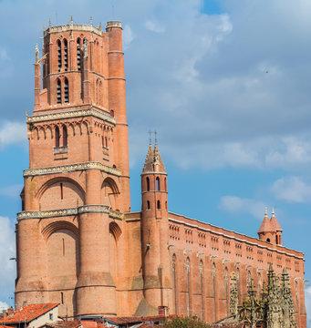 cathédrale d'Albi, Tarn, Occitanie, France