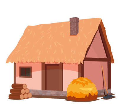 Medieval peasant cottage