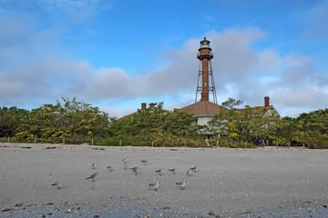 Sanibel Island or Point Ybel Light in Florida