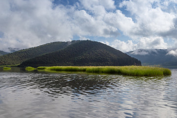 Natural scenery of rurgan grassland in sichuan, China