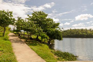 parque pituaçu com um olhar de paz