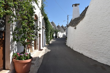 uliczka w Alberobello
