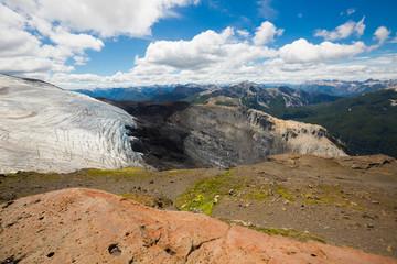 Tronador volcano and glaciers