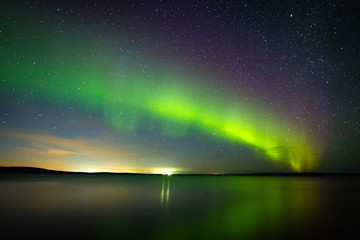 Polar lights, Aurora Borealis, Northern Lights