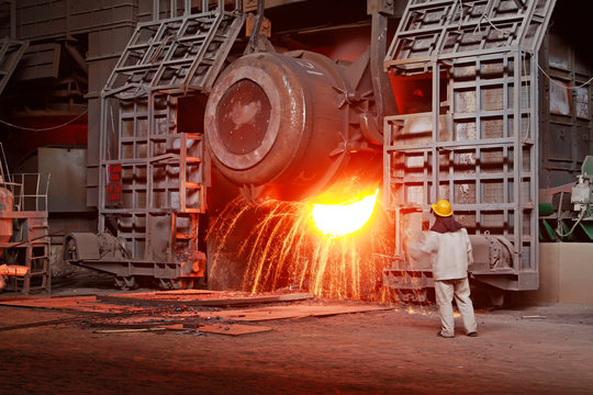 Iron and steel industry furnace