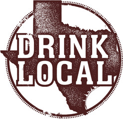 Drink Local Texas State Beer Wine and Spirits