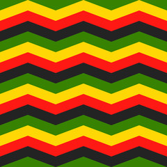 jamaica chevron seamless pattern
