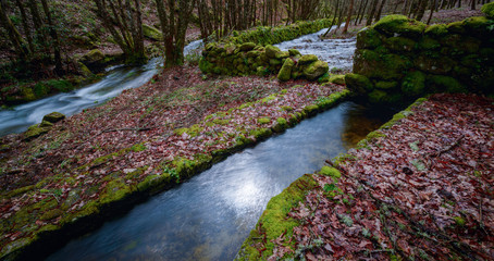 Ancient canals for traditional mills