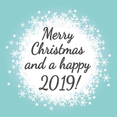 Merry Christmas and a happy 2019