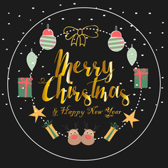 Merry Christmas! Happy Christmas companions