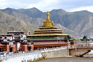 Monasterio Labrang en Xiahe, China