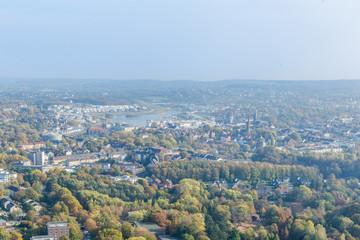 Aerial view of Dortmund, Germany