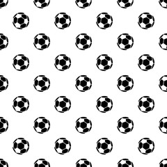 Soccer pattern vector seamless repeating for any web design