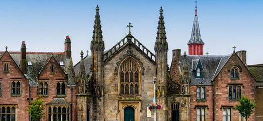 Saint Mary Church in Inverness, Scotland