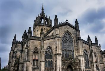 Saint Giles Cathedral in Edinburgh, Scotland
