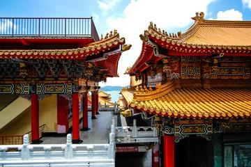 Temple at Sun Moon Lake in Taiwan