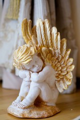 The figurine of a little angel