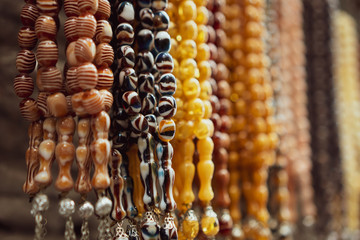 tasbih for prayers used by muslims