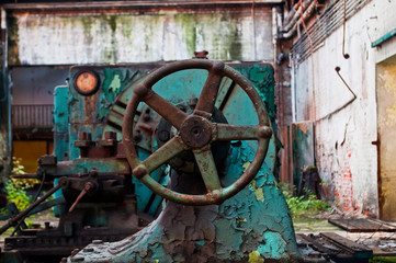 Fototapeta Stara maszyna do metalu obraz