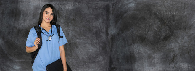 Female Nursing Student