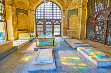 Memorial hall, Shiraz, Iran