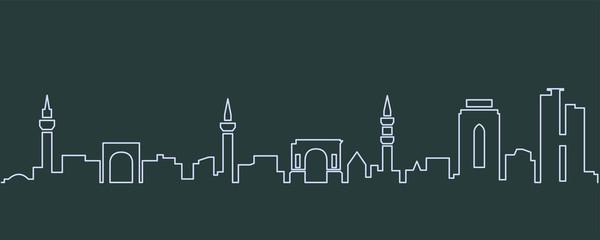 Tripoli Single Line Skyline