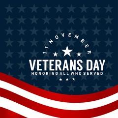 veteran day design for celebrate