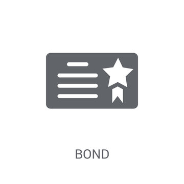 Bond icon. Trendy Bond logo concept on white background from business collection