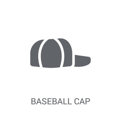 Baseball cap icon. Trendy Baseball cap logo concept on white background from Clothes collection