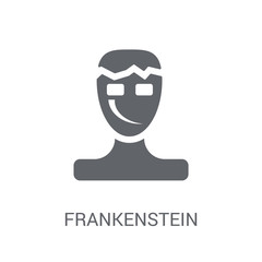 Frankenstein icon. Trendy Frankenstein logo concept on white background from Fairy Tale collection