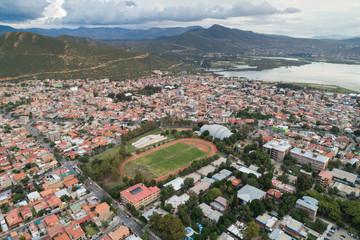 Aerial view of San Simon University in Cochabamba, Bolivia