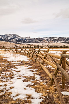Fence and Sleeping Giant