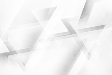 Low poly white and grey background. Halftone raster backdrop.