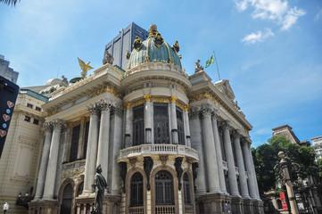 Theatro Municipal (Municipal Theatre) is an opera house in the Centro district of Rio de Janeiro