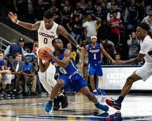 NCAA Basketball: Morehead State at Connecticut