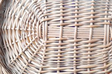 wicker basket bottom