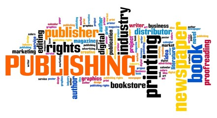 Publishing word cloud