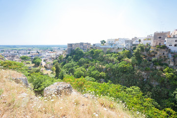 Massafra, Apulia - Idyllic middle aged village in the back country of Apulia