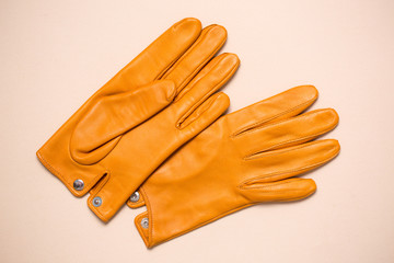 gloves with buttons Wall mural