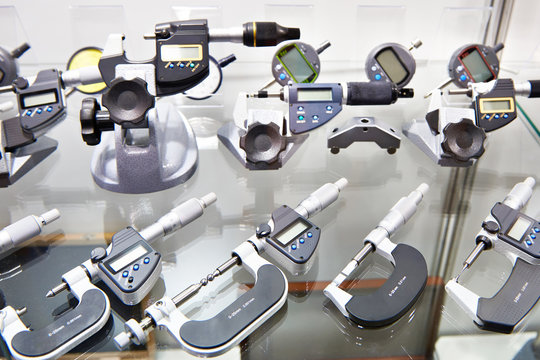 Digimatic and mechanical micrometers