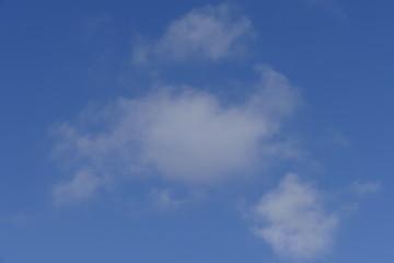 Wolken, Blauer Himmel