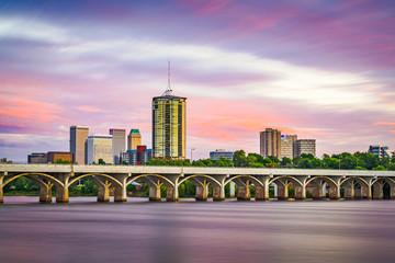 Aluminium Prints Light pink Tulsa, Oklahoma, USA