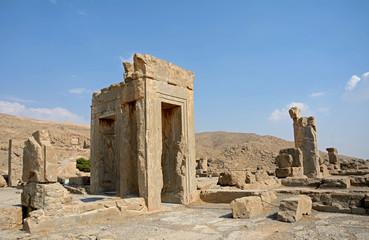 Ruinsof the ancient Persian capital city of Persepolis, Iran